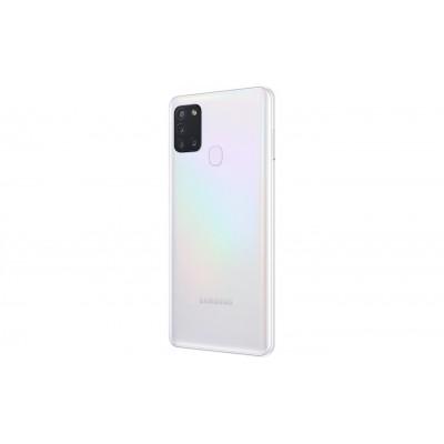 Samsung Galaxy A21S Smartphone Dual SIM 4GB Ram 128GB 4G LTE  48 MP+ 8 MP+ 2MP+ 2MP White