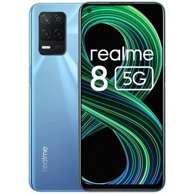 Realme 8 Smartphone 5G Dual Sim 6GB RAM 128Gb Supersonic Blue