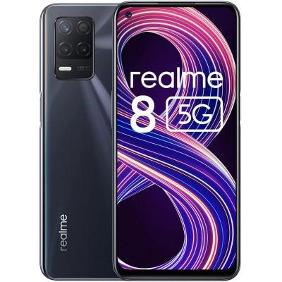 Realme 8 Smartphone 5G Dual Sim 6GB RAM 128Gb Supersonic Black