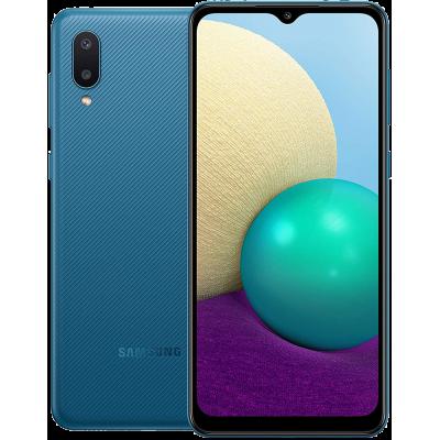 Samsung Galaxy A02 Smartphone Dual Sim 64GB 3GB RAM 4G LTE Blue