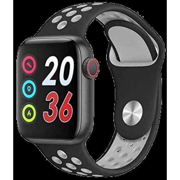 BSNL Smart Watch  W5 Fitness Sports Heart Rate Bracelet Waterproof Grey