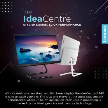 "Lenovo IdeaCenter AIO 340 -22 i3-10110U 4GB 1TB HDD DOS 21.5"" HD none Touch A340 BLACK-F0EB00DNAX All in One PC"