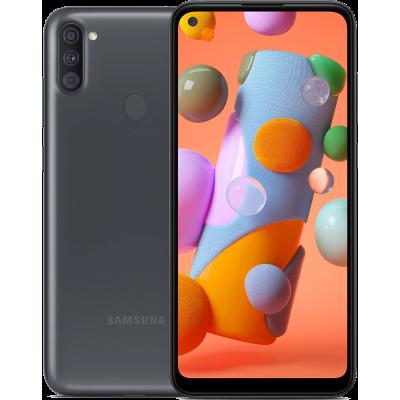 Samsung Galaxy A11 Dual SIM - 32GB, 2GB RAM, 4G LTE  13MP + 5MP + 2MP Black