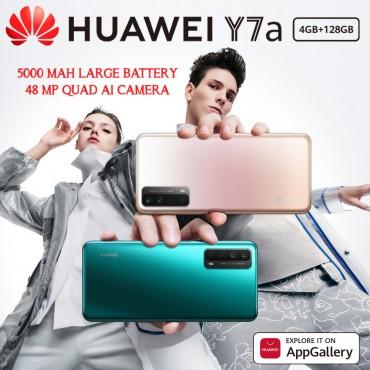 Huawei Y7A Dual Sim 4G LTE 128GB 4GB RAM 48MP+8MP+2MP+2MP